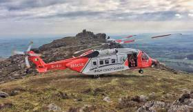 The Waterford-based Rescue 117 flew to the scene near Kinsale on Monday evening 11 June