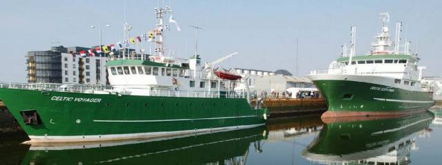 Marine Institute Research Vessels docked in Galway