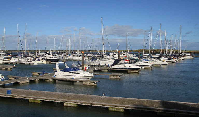 Malahide Marina pictured in 2017