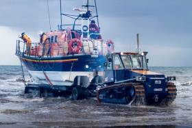 Clogherhead Lifeboat Assists Medevac Of Injured Fisherman