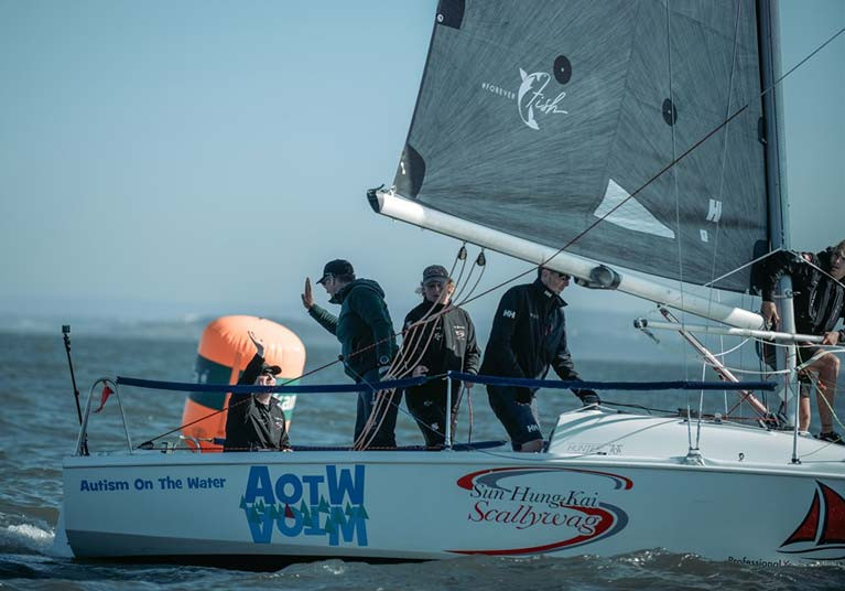 Murray McDonald will debut at Bangor Town Regatta in a Hunter 707