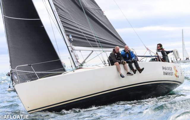 The J109 Powder Monkey was third in the DBSC Combined Cruisers race