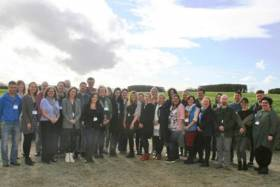 Irish Ocean Literacy Network members at the meeting held at the Marine Institute in Galway last week