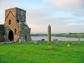 The body of Lu Na McKinney was found by a jetty at Devenish Island on Lough Erne, near Enniskillen