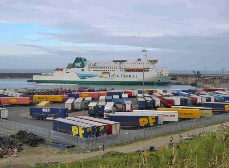 File image of Rosslare Europort