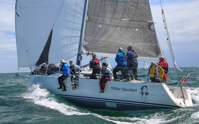 Tim Goodbody's White Mischief, from the Royal Irish Yacht Club on Dublin Bay is one of four J109s entered so far for June's ICRA Nationals at Royal Cork Yacht Club