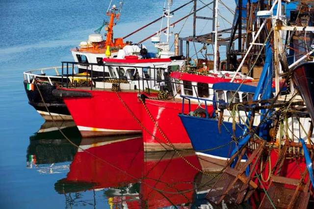€35.7m capital investment package in six Fishery Harbour Centres and other fisheries related marine infrastructure