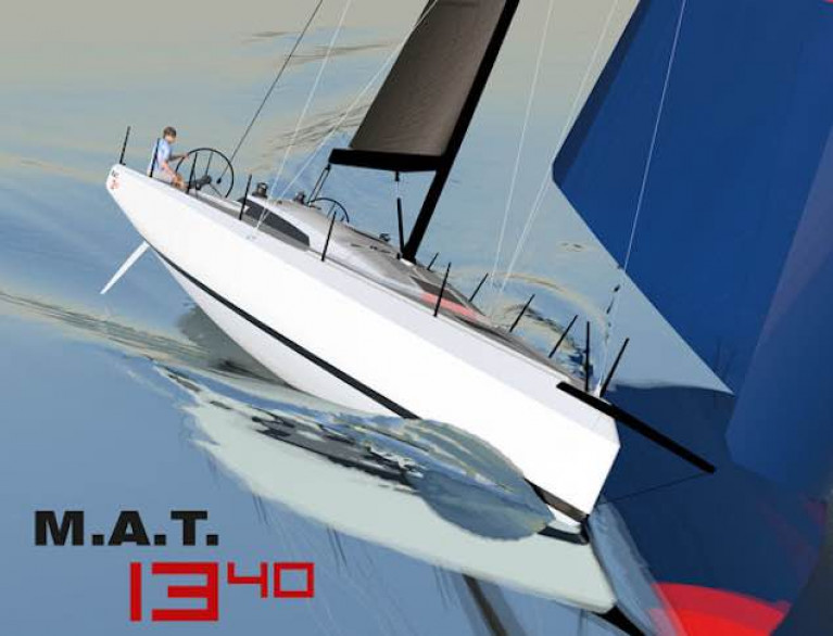 The MAT 1340 is Mark Mills' fourth project with MAT Yachts