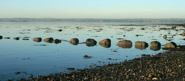 Strangford Lough coast