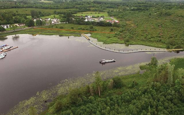 €500k for Completion of Shannon Blueway Between Leitrim Village & Drumshanbo town