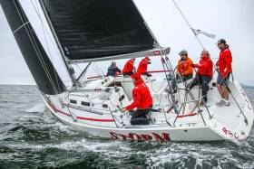 Howth's Storm (Pat Kelly) was the class one winner at Greystones Regatta