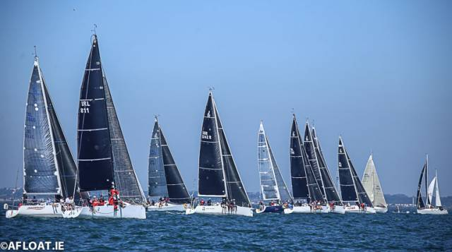 The Frank Keane BMW ICRA Nationals on Dublin Bay this weekend will produce a 100-boat fleet