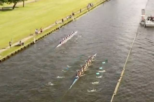 Newcastle and UCD race at Henley