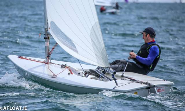 Ronan Wallace was the winner of the first race in the DBSC Laser Standard division. Results below