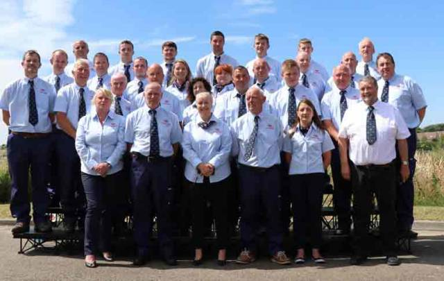 Fundraising and Operational volunteers of Fethard RNLI