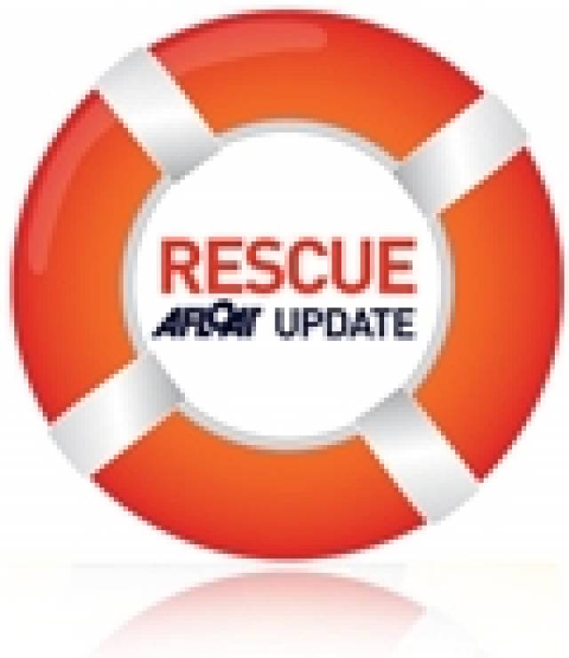 Woman Rescued from Water at Howth Head