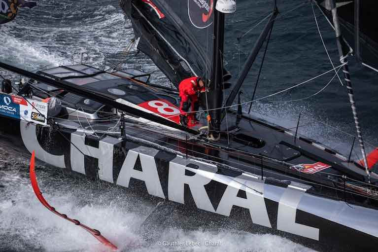 Jérémie Beyou is returnig to the start with damage to his IMOCA 60, Charal