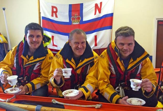 Have a cuppa with Larne RNLI's volunteer lifeboat crew on Friday 30 September