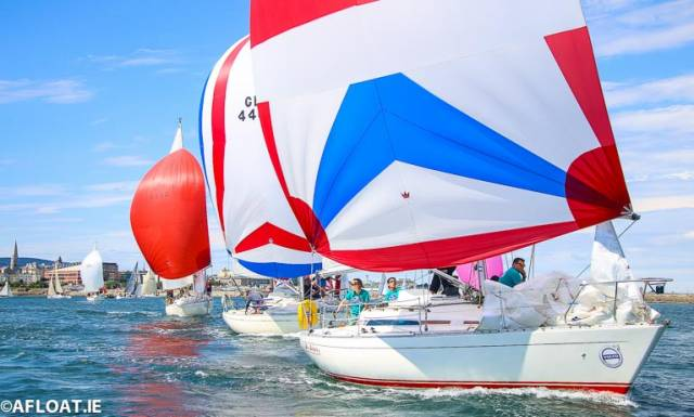 75 different clubs from seven nations, racing 290 races are expected to compete at Dun Laoghaire Regatta in seven months time