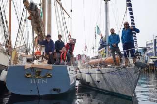 Irish yachts Ilen and Killary Flyer in Nuuk, Greenland
