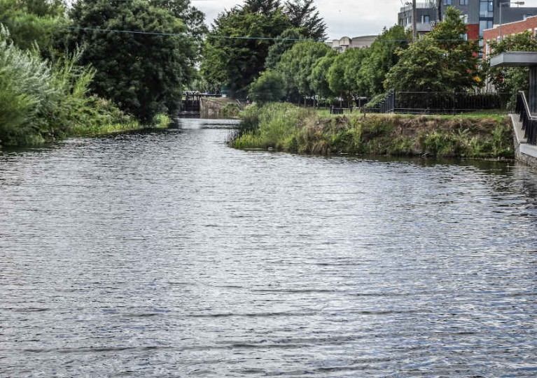 File image of the Royal Canal at Ashtown