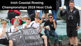 Whitegate Celebrate Being Chosen as Hosts for Irish Coastal Rowing Championships