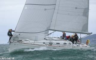 Lively Lady (Rodney and Keith Martin) were the winners of Cruisers Zero on IRC and ECHO handicaps in today's DBSC Race