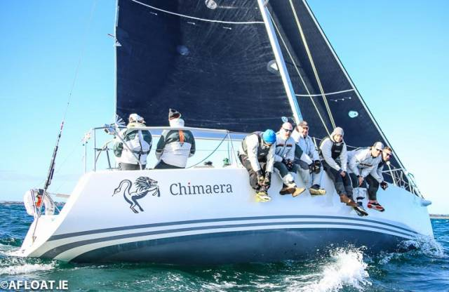 Andrew Craig's Chimaera was the winner of tonight's DBSC Thursday night race
