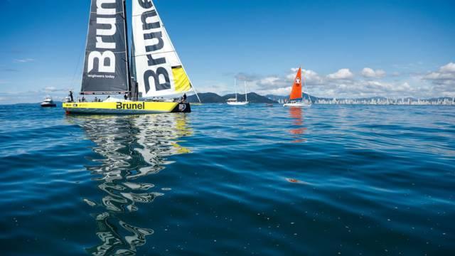 Burling's boat wins Ocean Race stage