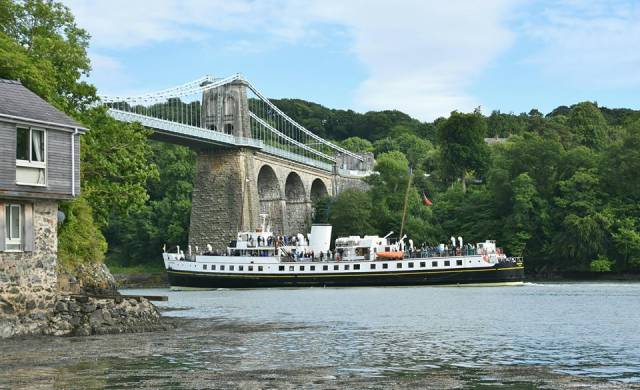 UK Heritage excursion vessel, Balmoral began today coastal cruises that include calls to locations along the north Wales coast between Anglesey and Liverpool.
