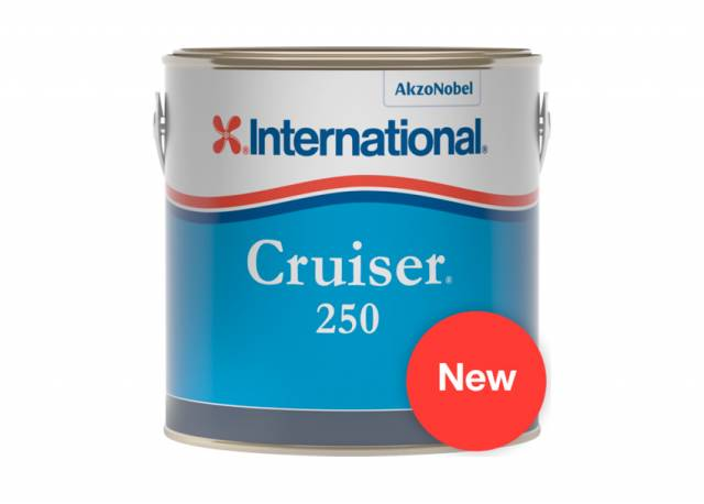 Cruiser 250, available in five colours in 3L and 750ml sizes, will help you get back on the water sooner
