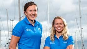 Annalise Murphy (left) and Katie Tingle - campaign has ended after 14 months