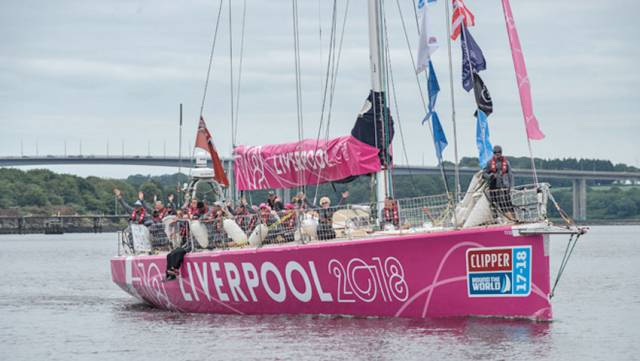 Full House In Derry-Londonderry As Liverpool 2018 Completes Clipper Race Arrivals