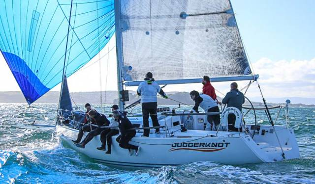 The Irish championship winning J109 Juggerknot is up for sale