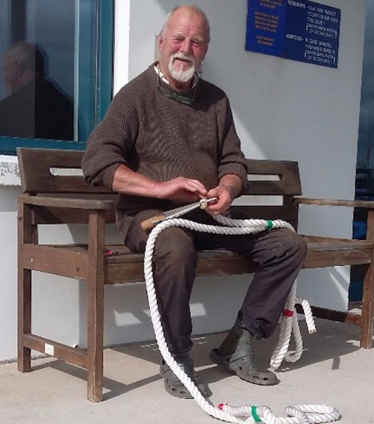 The Name of the Late Don Clarke of Strangford Lough Yacht Club Will be on the New Clifden Lifeboat
