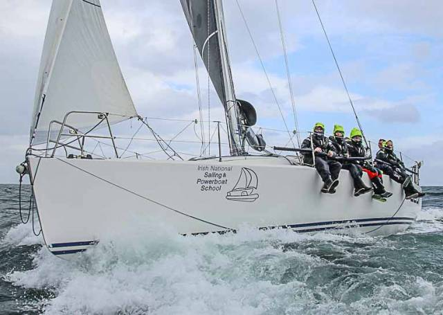 The Irish National Sailing School has launched a new cruiser–racer training programme