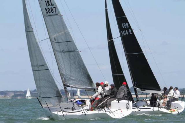RCYC's Paul Gibbons is up to sixth in Anchor Challenge at the Quarter Ton Cup