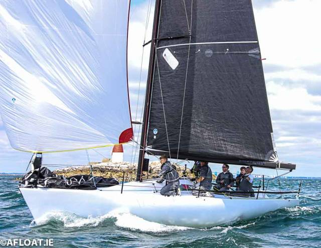 Wins at Sovereigns and the Dun Laoghaire Regatta for Checkmate XVIII has lifted them into contention for ICRA's Boat of the Year Award