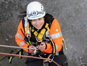 Coast Guard volunteer, the late Caitríona Lucas