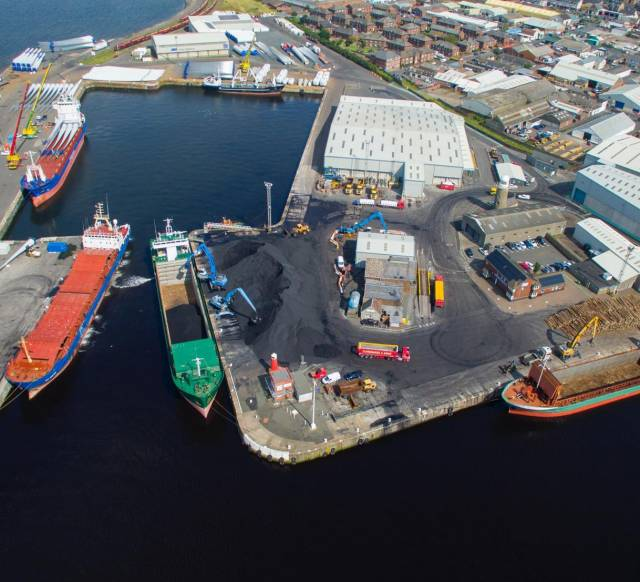 ABP's Port of Ayr which has recorded one of its busiest days in the last 25 years, with five vessels calling at the Firth of Clyde port last week.