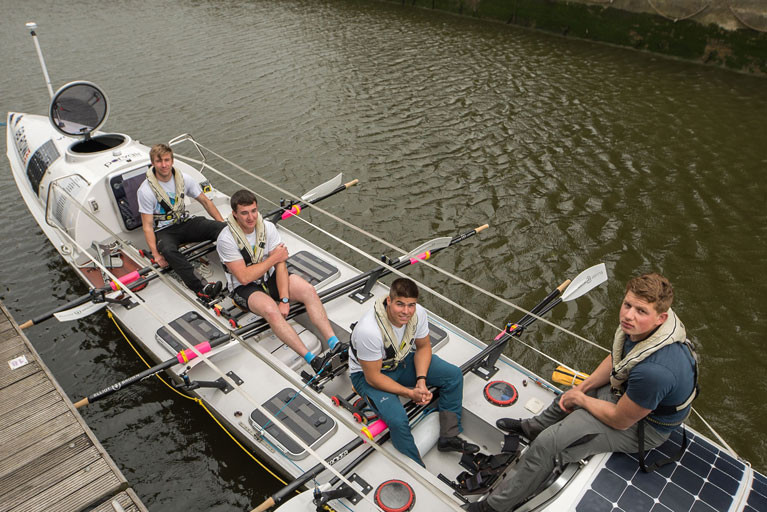 The GB Rowing Challenge team