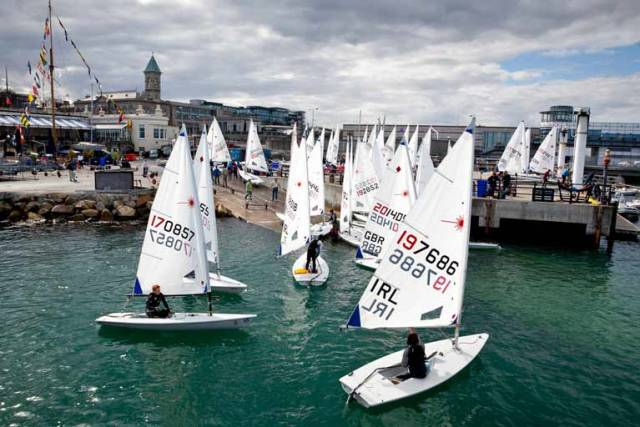 Laser Master Worlds Set to Race on Dublin Bay