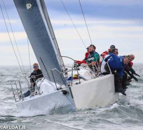 John Maybury has successfully defended his IRC One title in the J109 Joker II