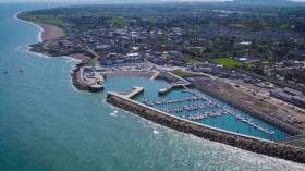 Greystones was yesterday the site of a flotilla protest by fishermen who claim they have been shut out of the harbour since 2008