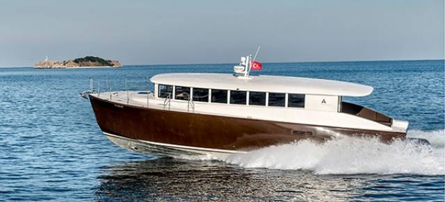 34–knot passenger vessel, the new Alen Shuttle 55 from Turkey