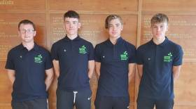 The Ireland Four: Aaron Johnston, Ross Corrigan, Barry Connolly, Nathan Timoney