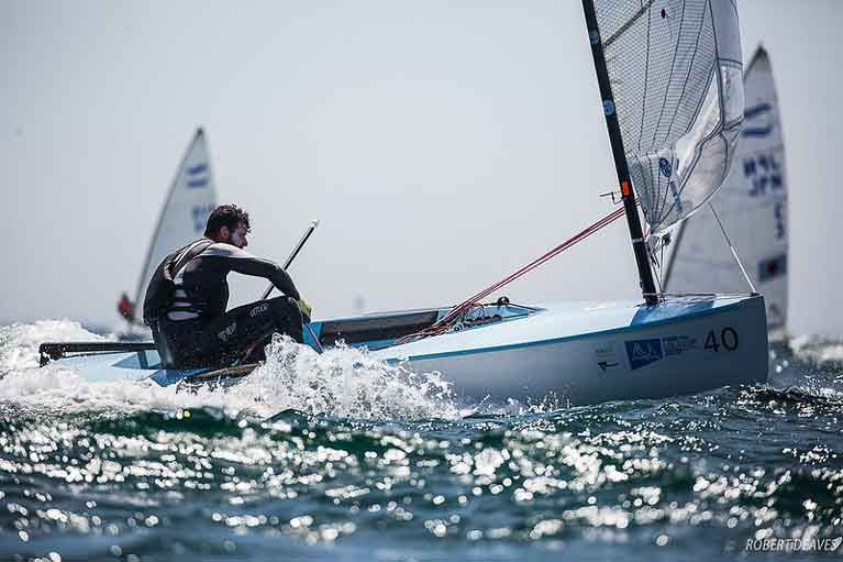 Northern Ireland Finn Sailor is 32 from 60 at Gold Cup in Australia