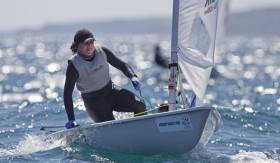 Laser Radial sailor and Olympic medal hopeful Annalise Murphy