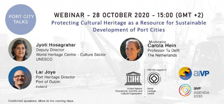 Webinar This Wednesday on 'Protecting Cultural Heritage as a Resource for Sustainable Development of Port Cities'