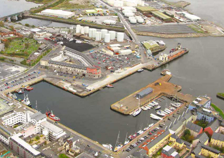 File image of the Port of Galway